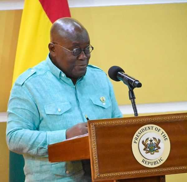 Find Ways To Live With Coronavirus – Akufo-Addo To Ghanaians