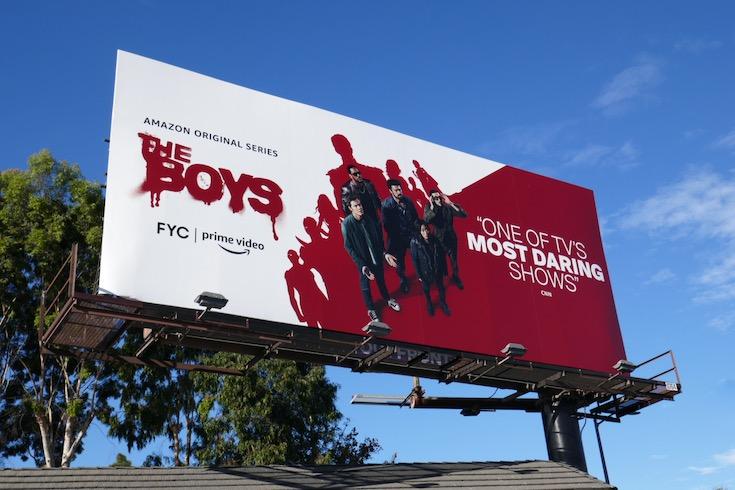 The Boys season 2 FYC billboard
