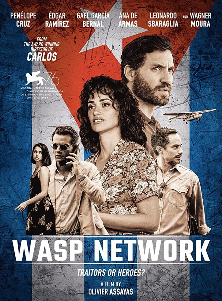 Pôster Oficial do Filme Wasp Network
