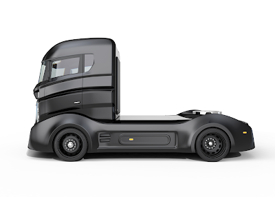 Nikola semi truck trying to beat Tesla semi truck