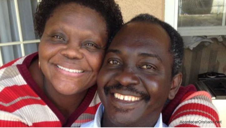 Pastor Jean Phillippe-Quetant y su esposa Erna Plancher-Quetant