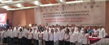 La CGTP participa del Encuentro Internacional Alternativa Democrática