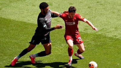 Liverpool đá trận đầu tiên hậu Covid-19: Mane lập công, hạ gục Salah 9