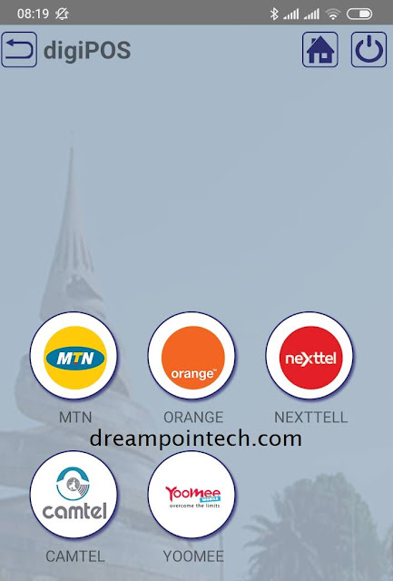 Digipos credit transfer Mtn, Yoomee, Orange, Nexttel, Camtel Cameroon