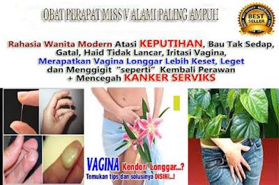 obat tradisional mengatasi Miss V Sering Becek