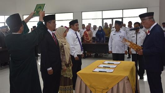 Mutasi Bergulir di Pemko Padang, Ini Pejabat Eselon II yang Dilantik