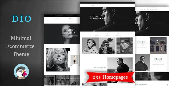 Boutique Fashion Shop Website Theme