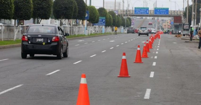 Conoce las vías que serán restringidos desde el 15 de julio en Lima y Callao (R. D. N° 013-2019-MTC/18)
