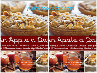 download ebook An Apple A Day: 365 Recipes with Creative Crafts, Fun Facts, and 12 Recipes from Celebrity Chefs Inside!