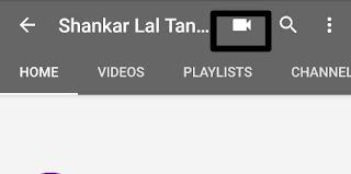 Youtube video uplod on mobile