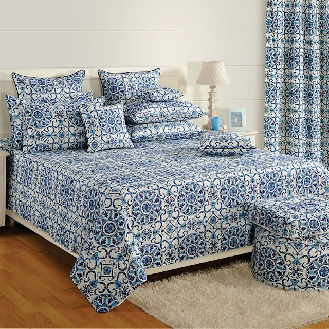 Gorgeous And Glamorous Bed Sheet Designs
