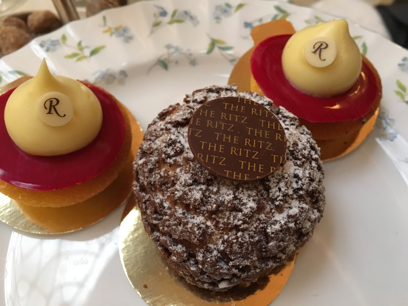 The Ritz afternoon tea London review pastries