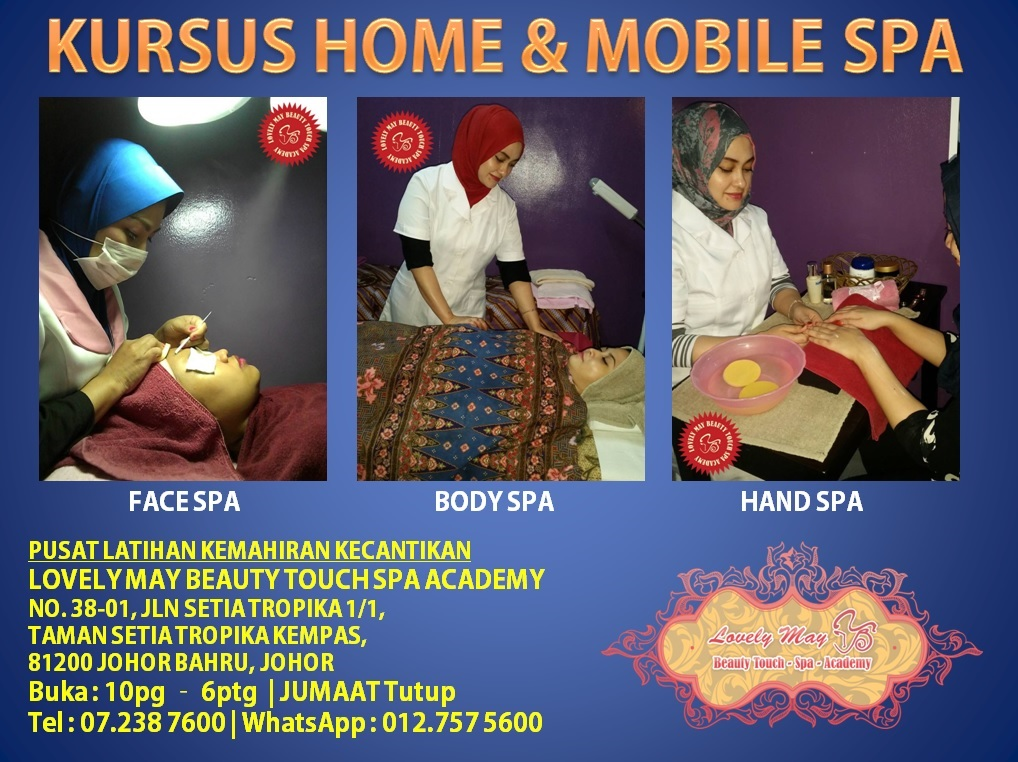 HOME & MOBILE SPA COURSE
