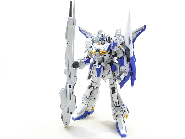 Custom Build: RG 1/144 Zeta Gundam [Amuro Ray colors] - Gundam Kits Collection News and Reviews