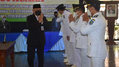Lantik 278 Pejabat, Bupati Tegaskan Tak Ada Jual Beli Jabatan