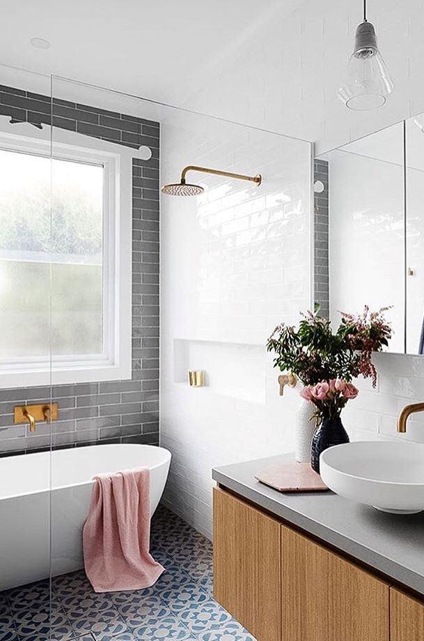 cute bathroom design idea