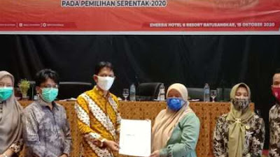 Sebanyak 261.891 Pemilih Ditetapkan sebagai DPT Pilkada Serentak 2020 di Tanah Datar
