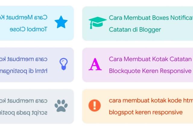 Cara membuat blockquote di blog