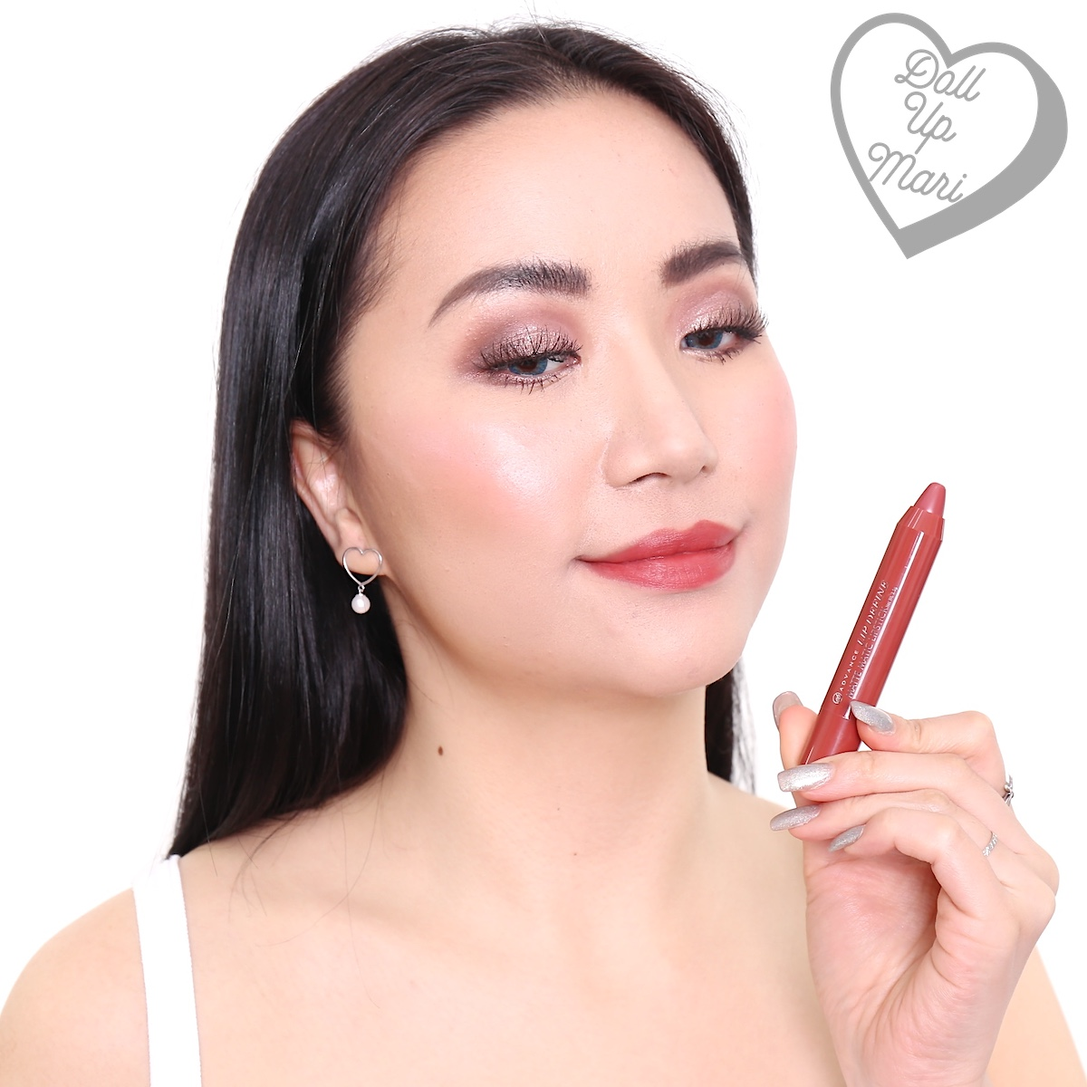 EB Advance Lip Define Matte Matic Lipstick Review and Swatches
