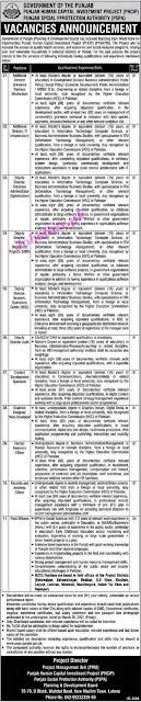 punjab-social-protection-authority-pspa-jobs-2021-advertisement