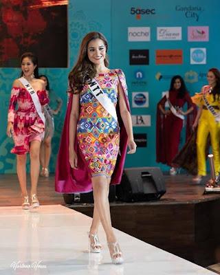 angel Boelan, 5 besar puteri indonesia 2020