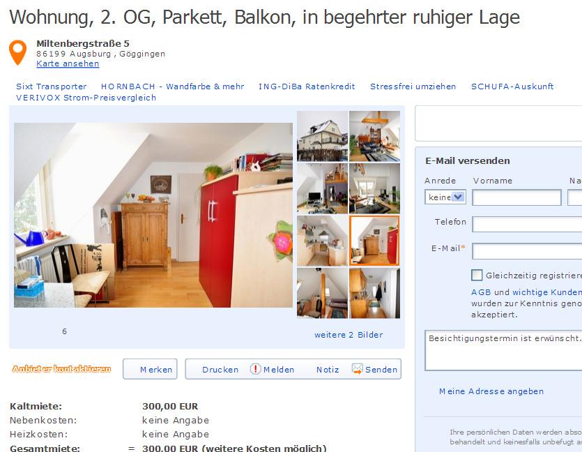 exclusive 2 zimmer wohnung in ac laurensberg informationen ber wohnungsbetrug. Black Bedroom Furniture Sets. Home Design Ideas