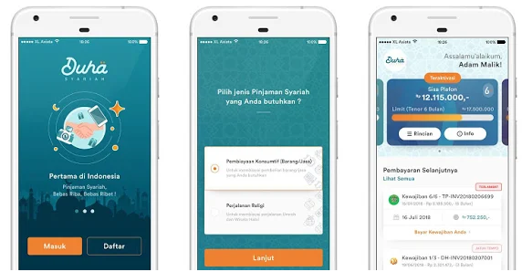 Inilah 5 Aplikasi Pinjam Uang Syariah Tanpa Bunga dan Riba!