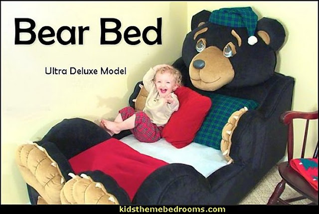 Bear bed bear themed bed bear toddler bed themed bed kids rooms themed beds animal shaped beds