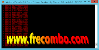 Wetzel Gift Card Cracker – By Dhara