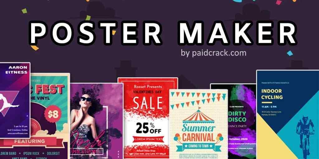 Poster Maker Flyer Maker 2021 Premium Mod Apk 4.6