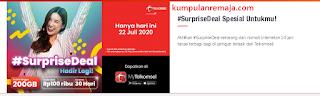 Apa itu Paket SurpriseDeal Telkomsel