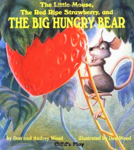 The Little Mouse, The Red Ripe Strawberry, and the Big Hungry Bear, part of children's book review list about fruit