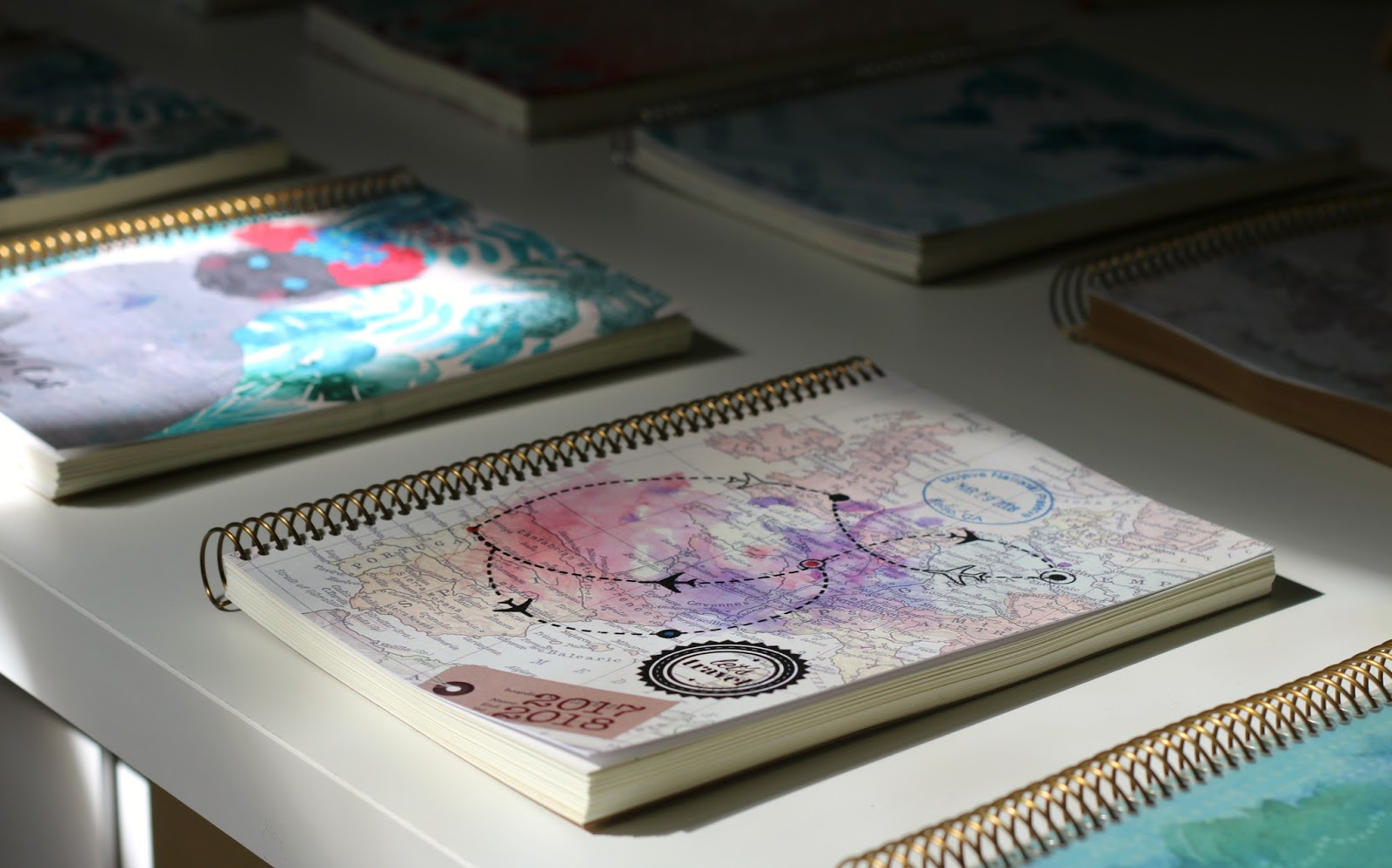 purple pineapple cadernos