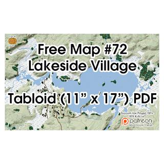 Free Lakeside Village Map on Patreon