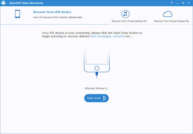 SynciOS Data Recovery free download offline setup