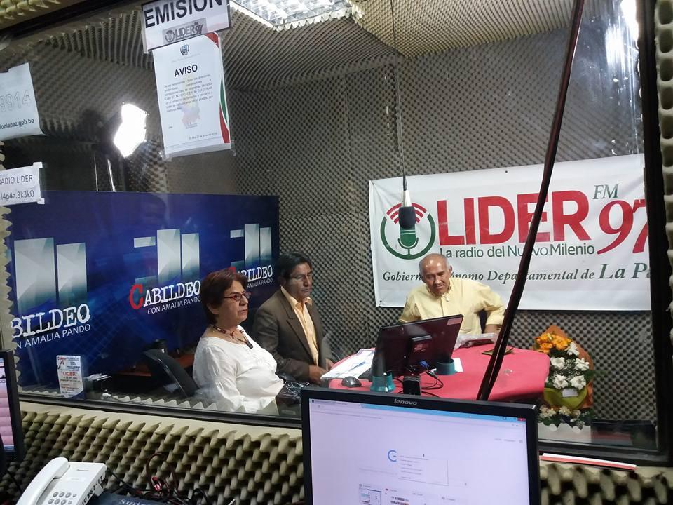 Radio Líder se caracteriza por sus programas de contenido periodístico y opinión ciudadana / RADIO LÍDER