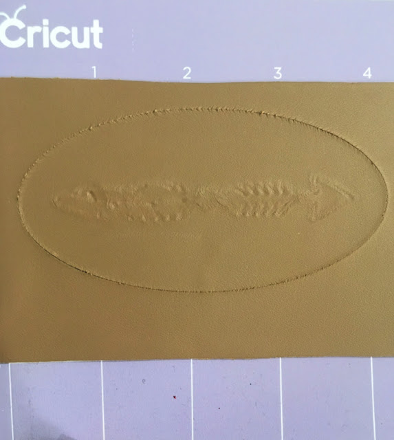 How to Use the Cricut Maker's QuickSwap Toolset to make engraved leather earrings and debossed leather bracelet.