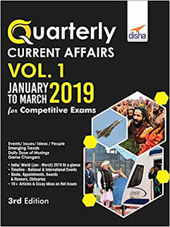Quarterly Current Affairs - January to March 2019