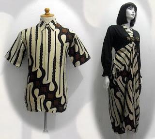baju batik pesta