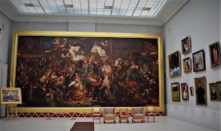 """Rogalin - Galeria obrazów - Matejko """"Joanna D'Arc"""""""