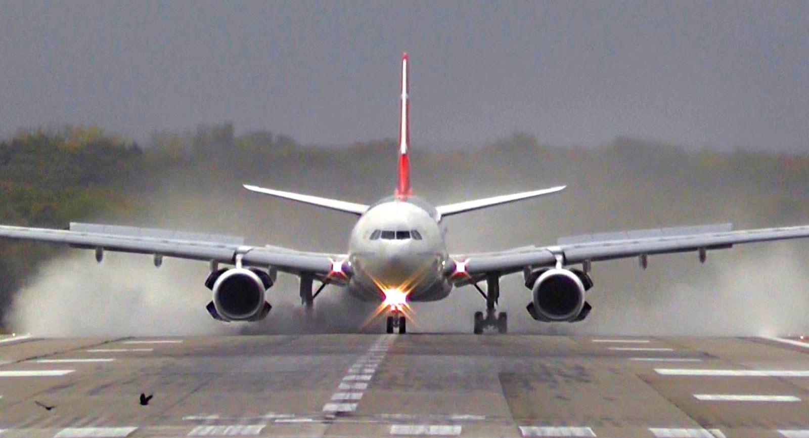 Pilot executes dangerous sideways landing at UK airport during storm
