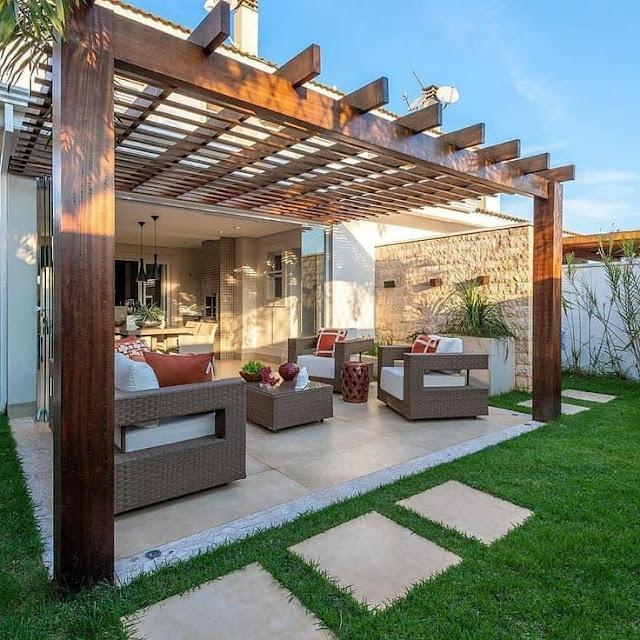 تنسيق حديقة المنزل بالدمام تصاميم جلسات داخلية جلسة خارجية الدمام