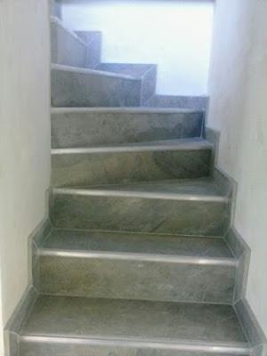 Escaleras en ceramica ambientes ceramicos for Escaleras baldosas ceramica