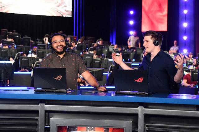 ASUS Republic of Gamers anuncia parceria com a ESPN na série de jogos EXP eSports