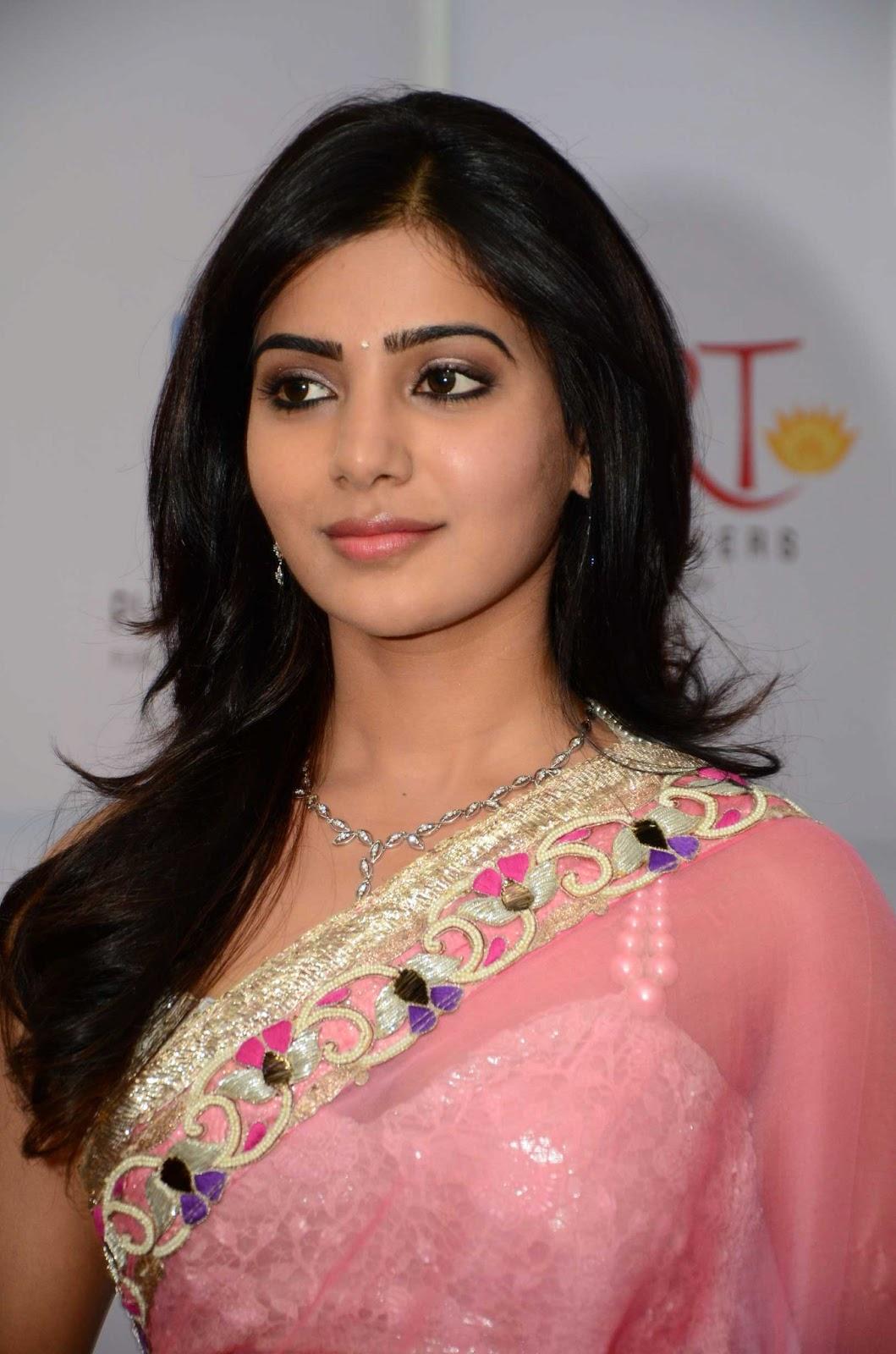 Samantha In Saree: Posted In: Samantha , Telugu Actress