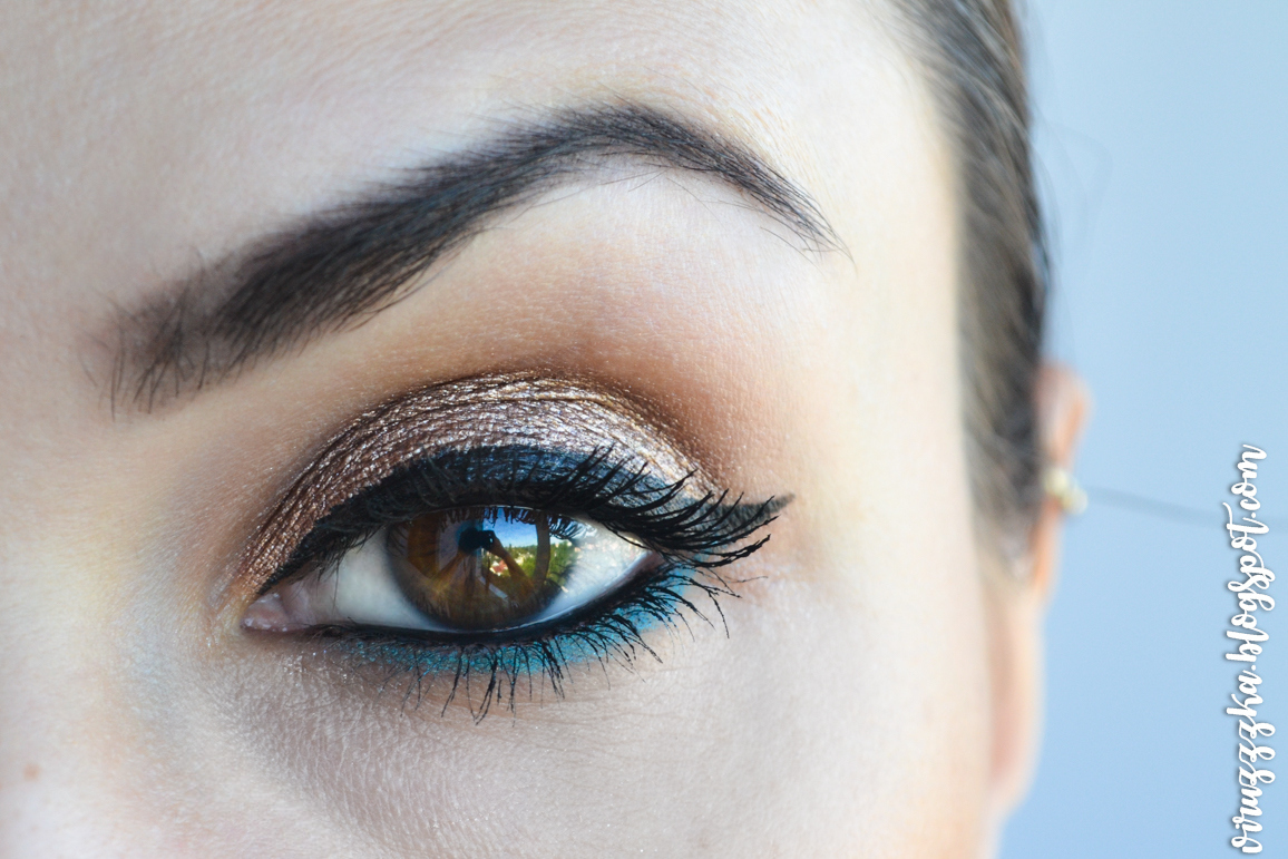 Maybelline NY Color Tattoo 24 HR by Eyestudio Gel-Cream Eyeshadow 35 On and On Bronze Review & Swatches