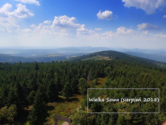 Wielka Sowa, najwyższa w Górach Sowich