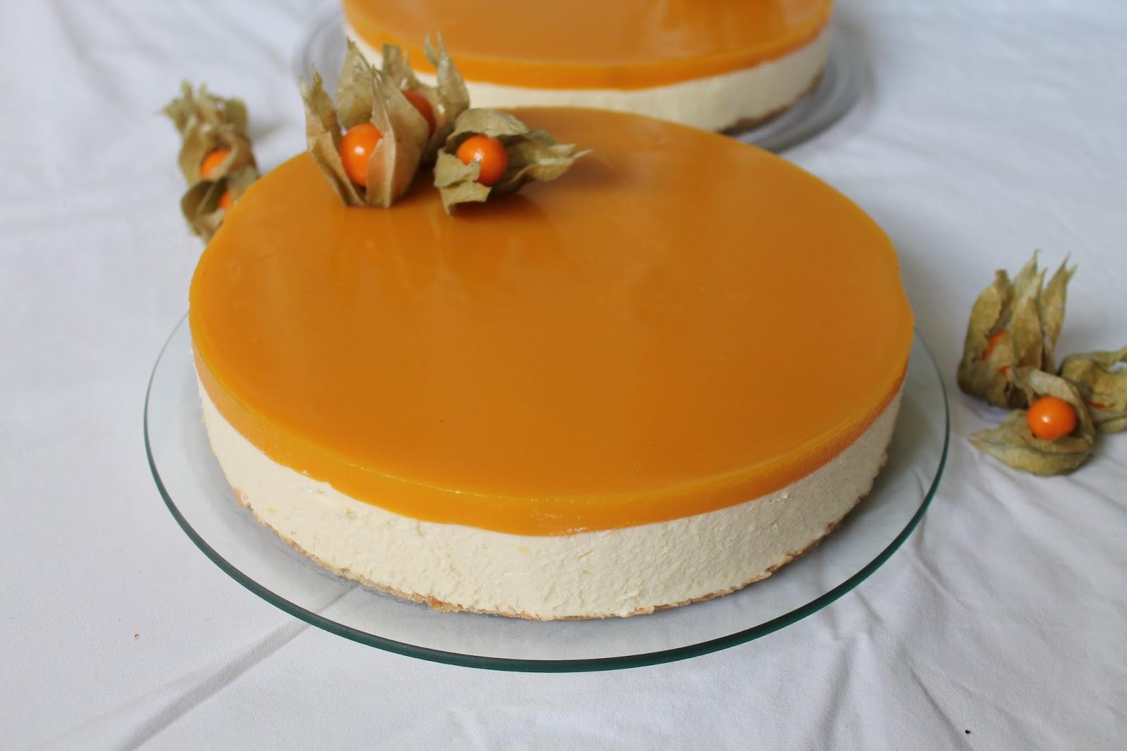mango rahka juustokakku