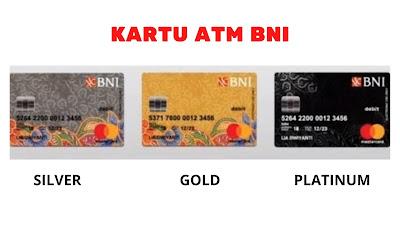 Jenis kartu ATM BNI