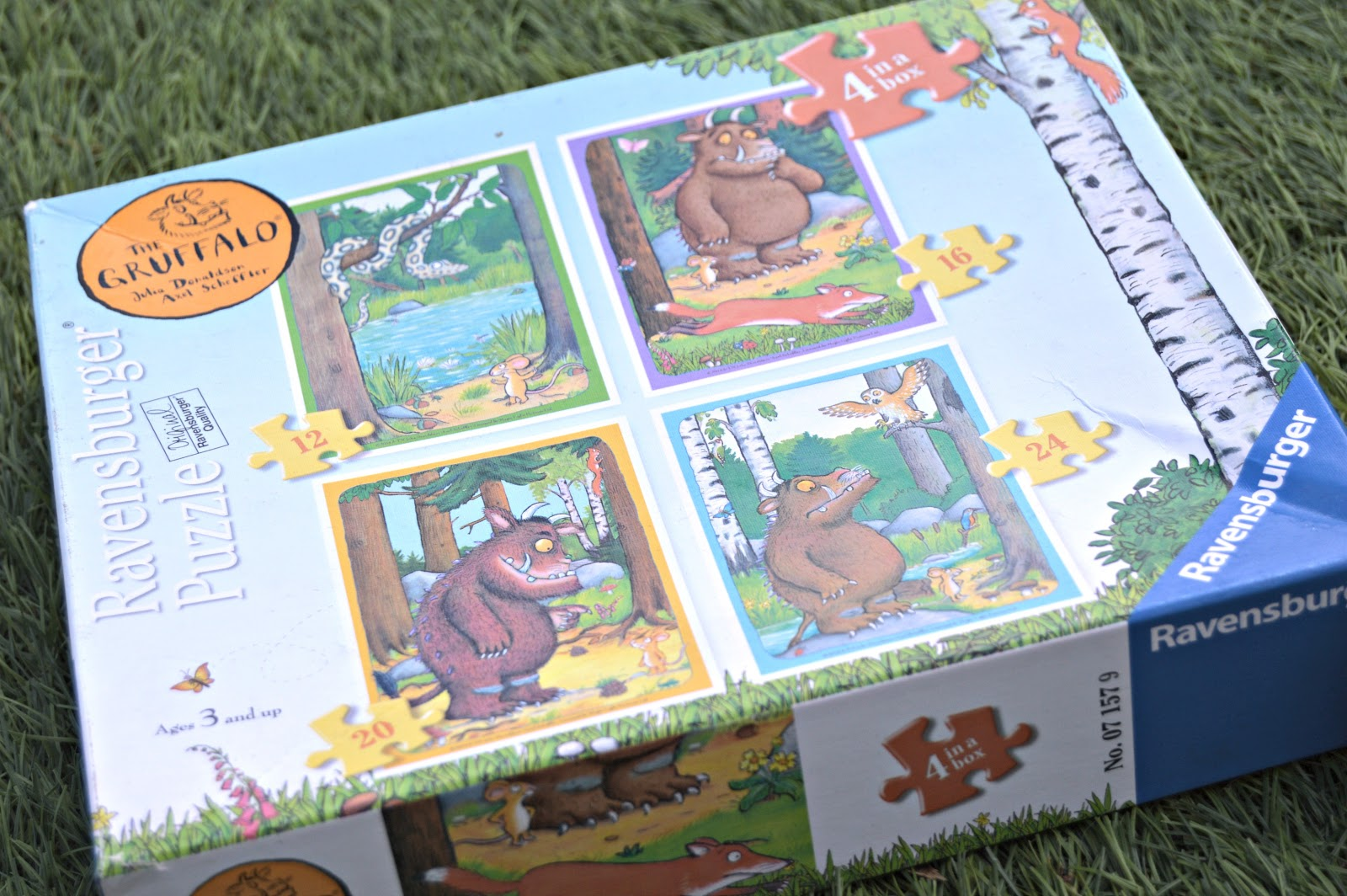 Gruffalo resources for home schooling